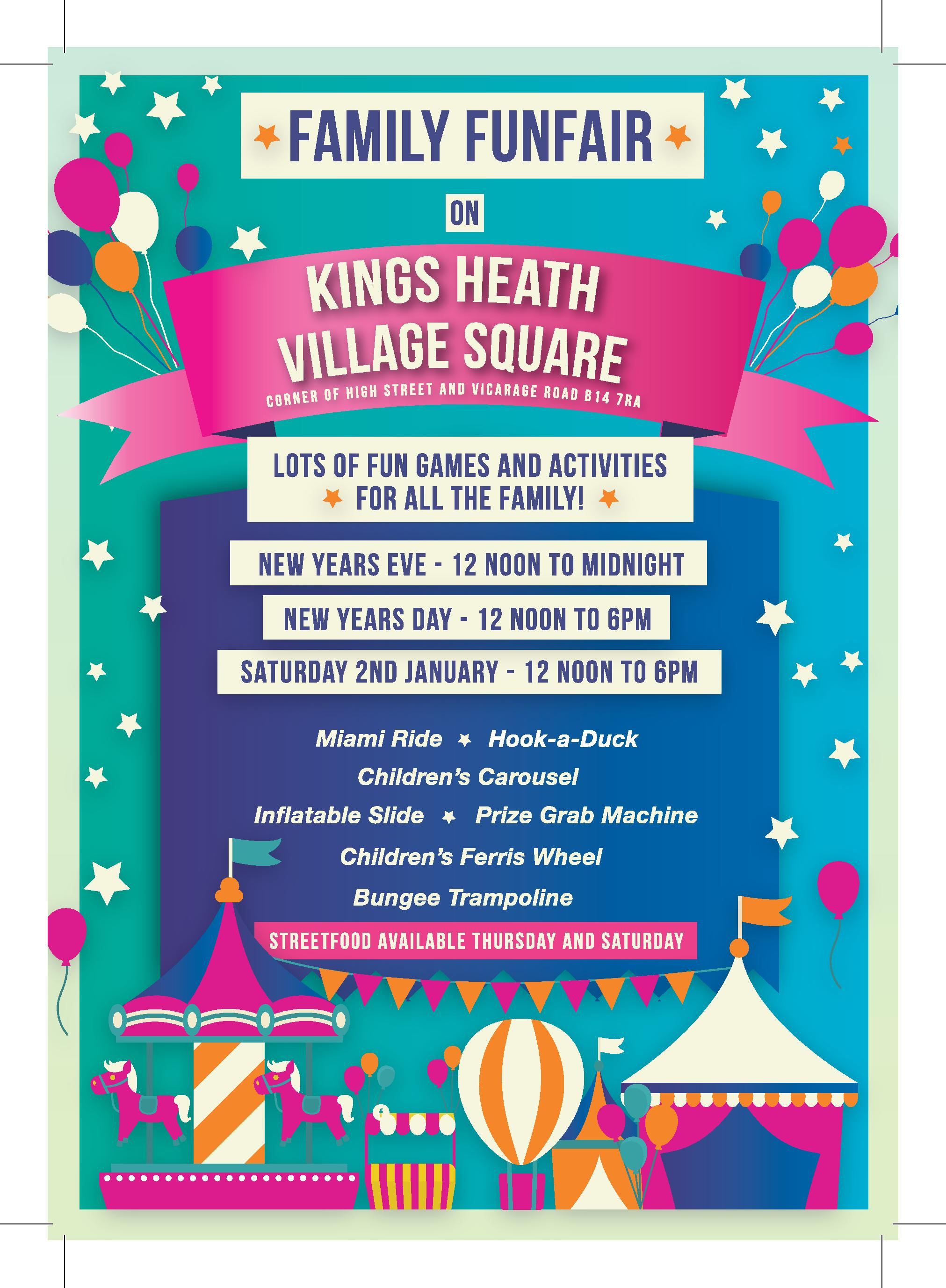 New Years Eve Family Event - All Saints Centre Kings Heath
