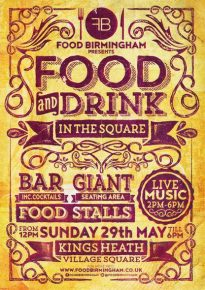 Food and Drink in the Square @ Kings Heath Village Square