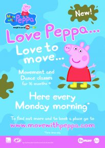 Move With Peppa @ All Saints Centre