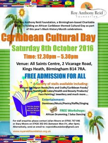 Caribbean Cultural Day @ Main Hall