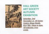 Hall Green Art Society Autumn Exhibition @ All Saints Church Hall